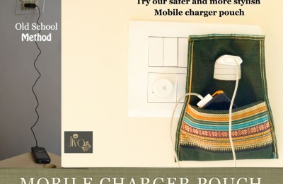 Mobile charger pouch